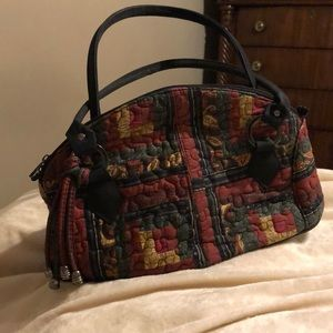Donna sharp quilted purse